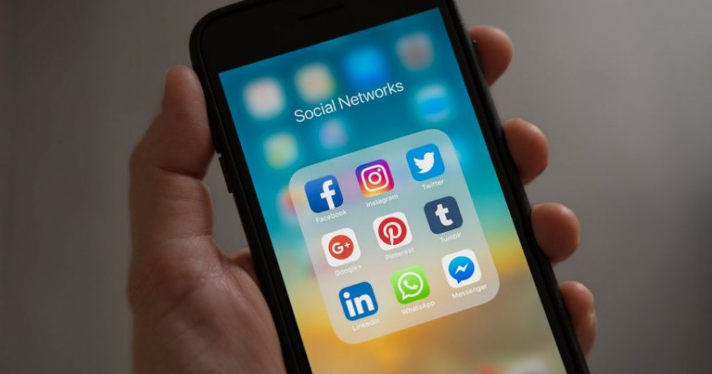 social media friend request coworker