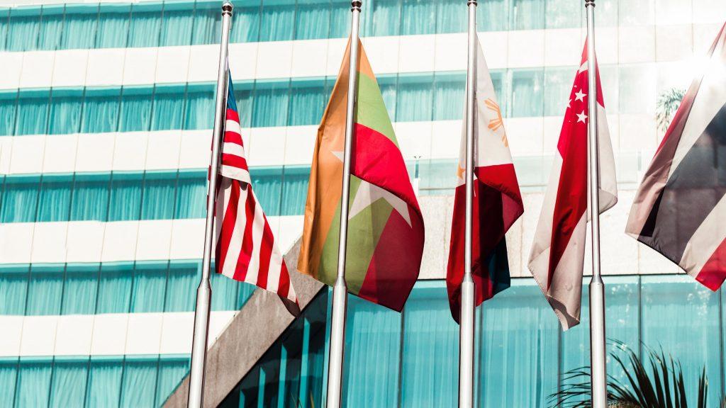 international management flags