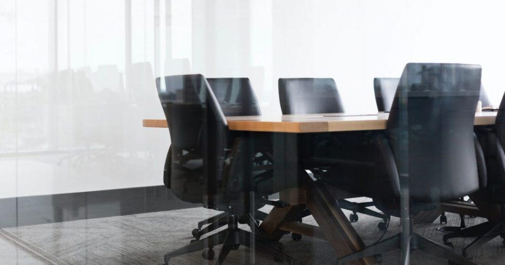 meeting room job interview