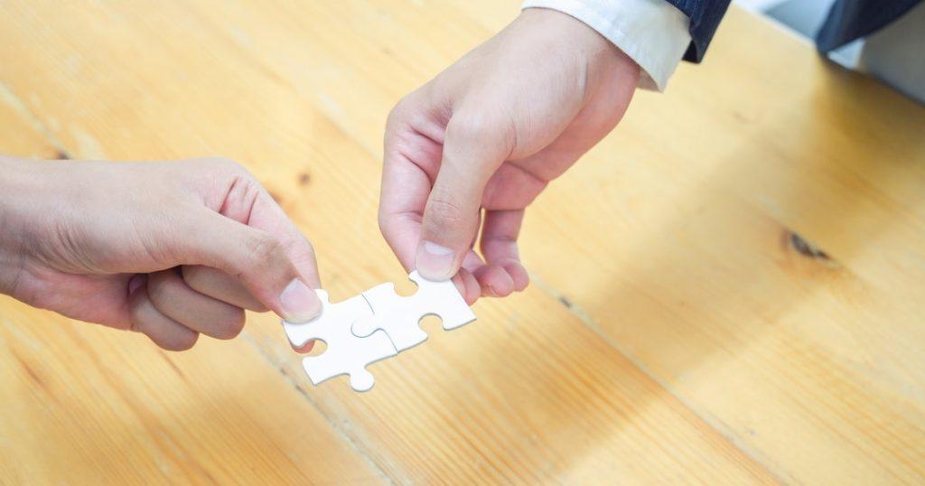 international team benefits puzzle